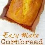 Easy Make Cornbread Cake