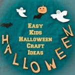 Easy Kids Halloween Craft Ideas