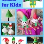 6 Elf Crafts for Kids