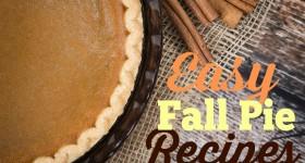 Fall Pie Recipes