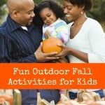 Fun Outdoor Fall Activities for Kids