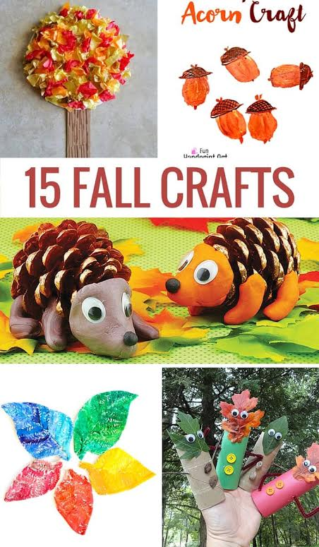 15 Fun Fall Crafts for Kids To Make Together