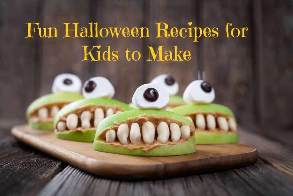Fun Halloween Recipes for Kids to Make