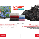 Shop Smart This Holiday Season w/ @Kmart Layaway PLUS $50 Giveaway #KmartLayaway #ad