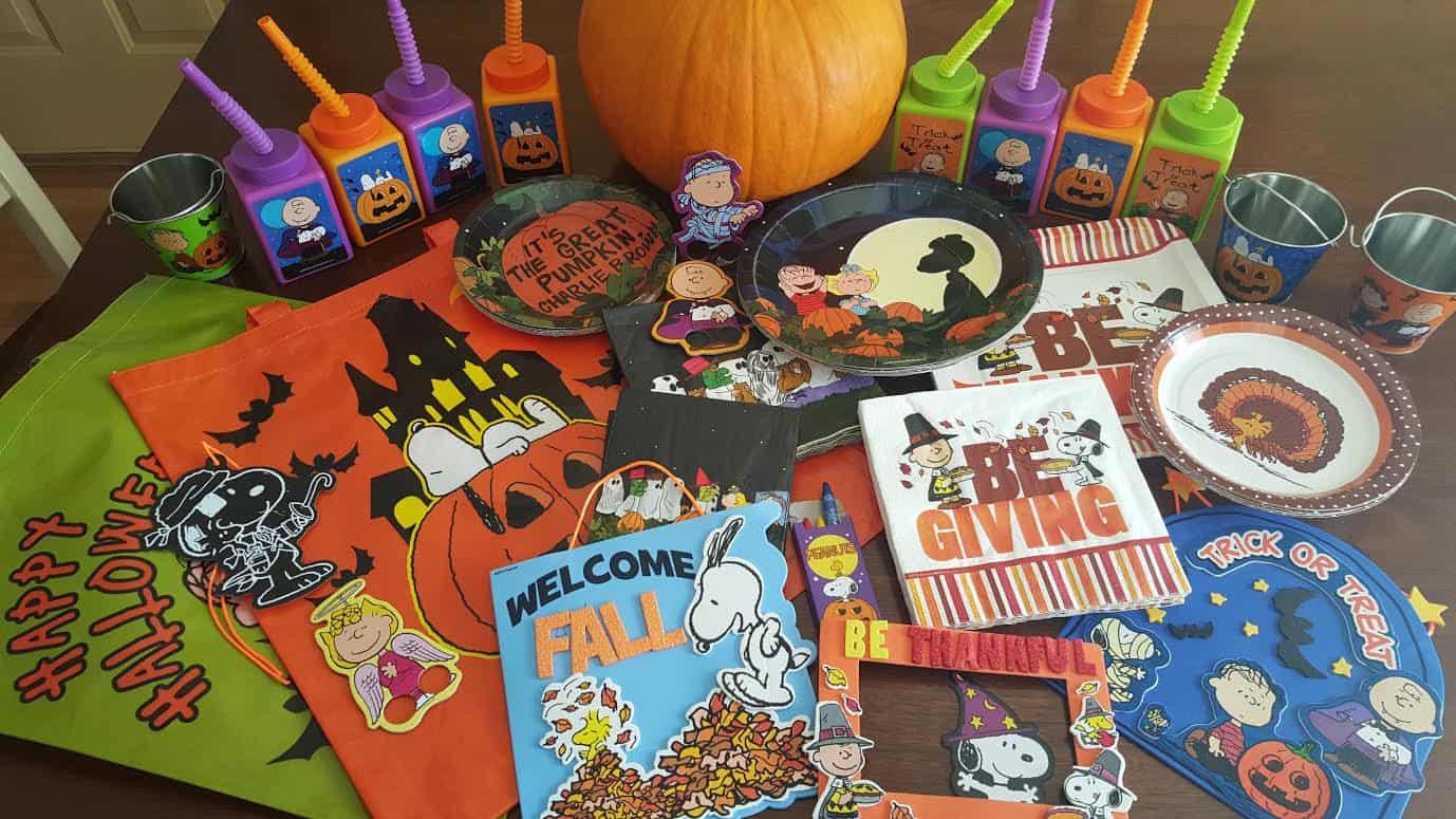Peanuts Halloween Merchanidise