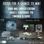 Gaming Giveaway – Enter to Win XBOX One Halo 5: Guardians 1TB Console and Gaming Bundle