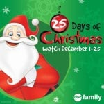 ABC Family 25 Days of Christmas TV Holiday Specials – #25DaysOfChristmas