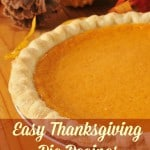Easy Thanksgiving Pie Recipes