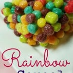 Rainbow Cereal Bars and Magic Friendship Fun w/ #LittleCharmers Toys