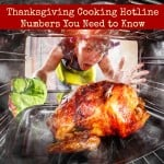 Thanksgiving Cooking Hotline Numbers You Need to Know