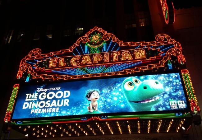 The Good Dinosaur Movie Premiere