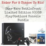 Win a PS4 Limited Edition Star Wars Battlefront Bundle – #Giveaway #StarWars