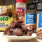 Easy Beef and Noodles w/ Reames PLUS $50 Gift Card Giveaway (AD)