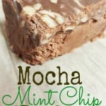 Mocha Mint Fudge Recipe  – #DunkinToTheRescue #ad