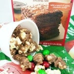 Brownie Batter Popcorn Recipe PLUS The Ultimate Game Day Brownies  (ad)