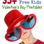 35+ Fun and Free Kids Valentine's Day Printables