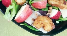 Parmesan Shrimp Salad