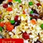 Party Popcorn Cake