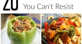 B - 20 Low-Carb Dinners You Can't Resist - Words