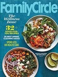 Free subscription to Family Circle Mgagazine