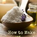 How to Make Homemade Body Scrubs