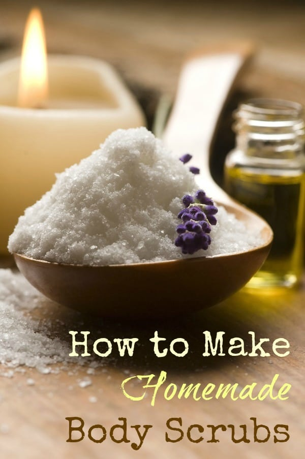 How to Make Homemade Body Scrubs