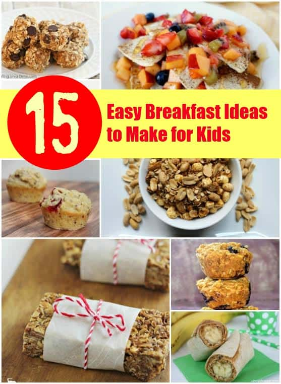 Easy Breakfasts for Kids