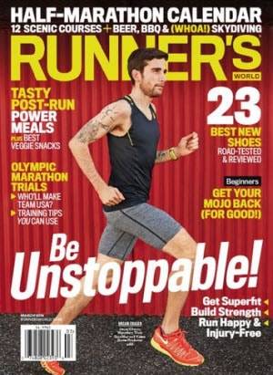 Free Subscription to Runners World Magazine