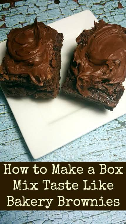 How to Make a Box Mix Taste Like Bakery Brownies