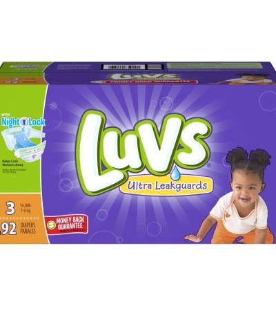 Save on Luvs Diapers