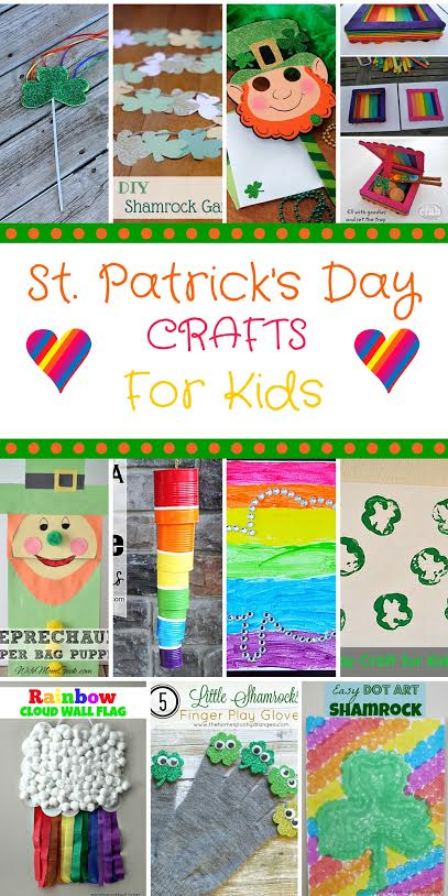 St. Patricks Day Crafts for Kids