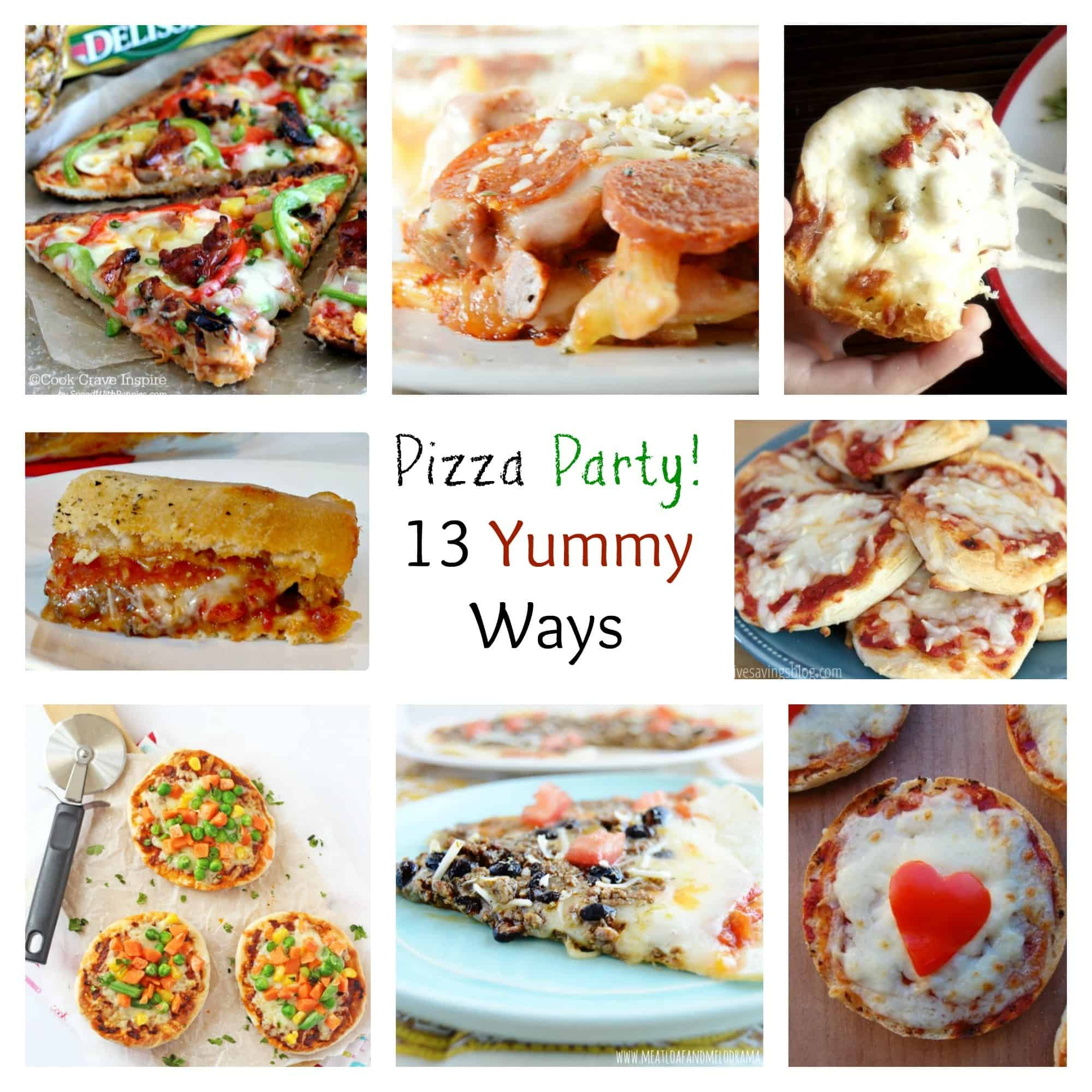 13 Pizza Recipes
