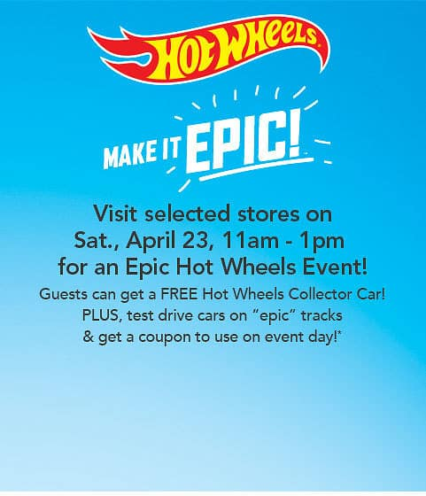 Free Hot Wheels