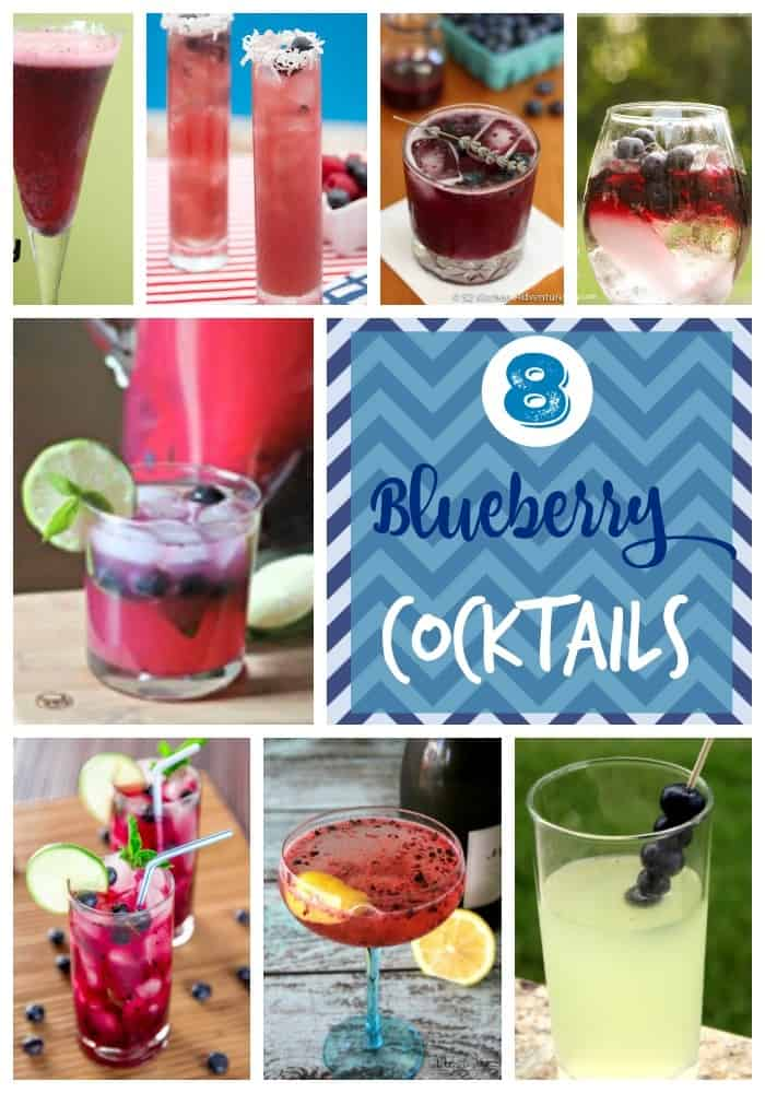Blueberry Cocktail Recipes