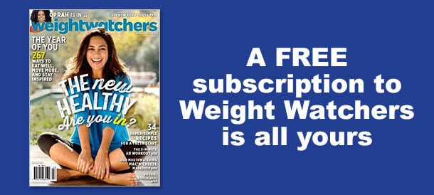 Free subscription to Weight Watchers Magazines