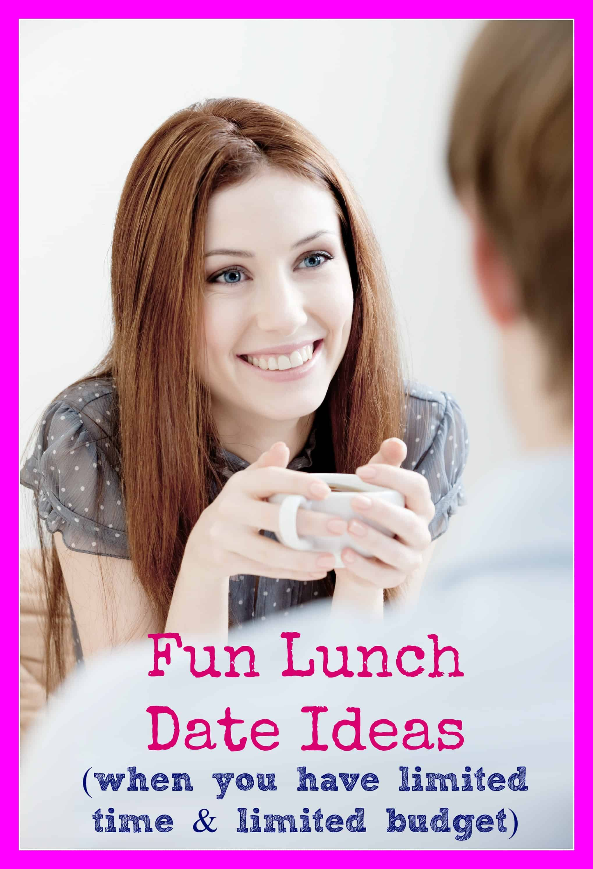 Budget Lunch Date Ideas