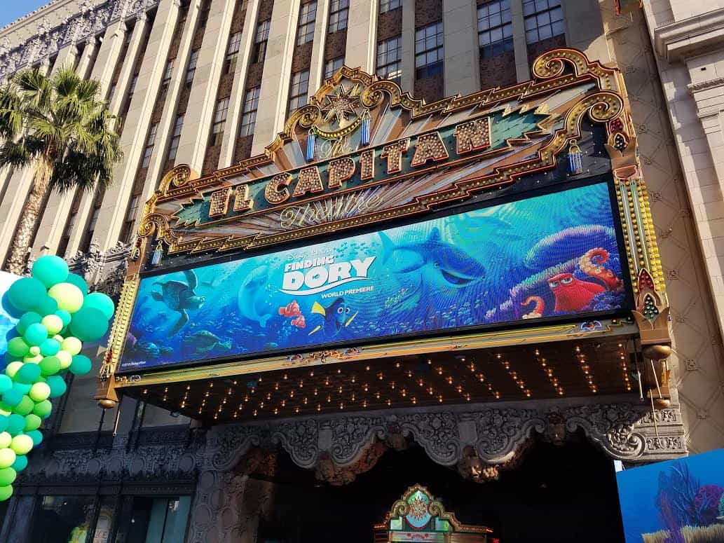 Finding Dory Celebrity photos