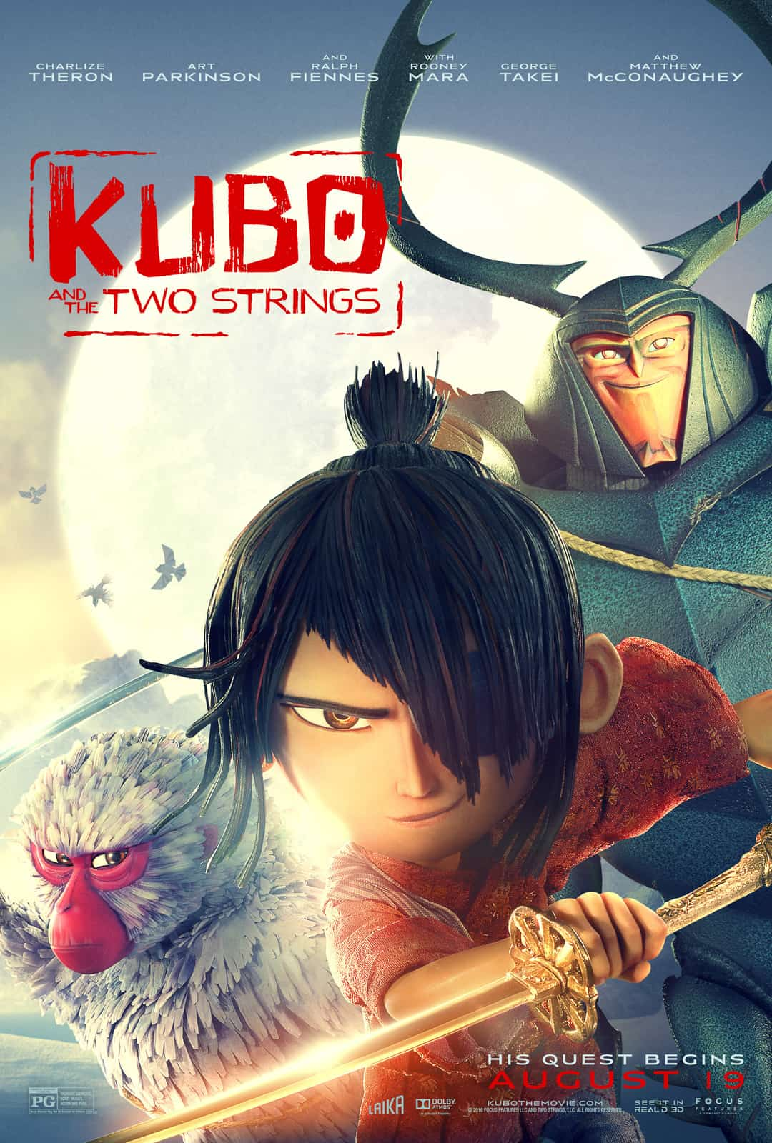 Kubo and the Two Strings Movie Preview