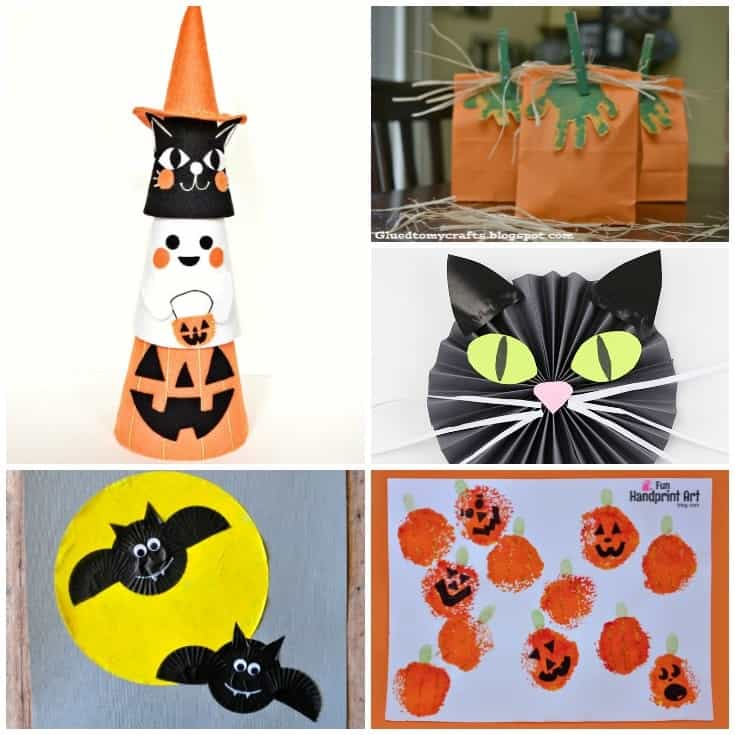 Creative Halloween Crafts for Kids - FB
