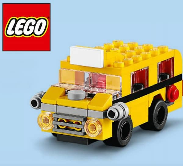 Free Lego School Bus Building Event