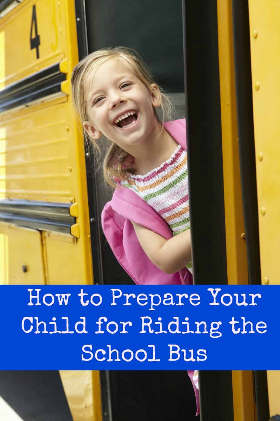 Is your child getting ready to ride the school bus for the first time? Here are some tips!