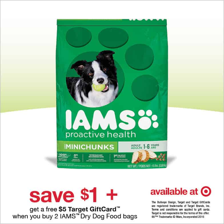 Iams Dog Food Coupon