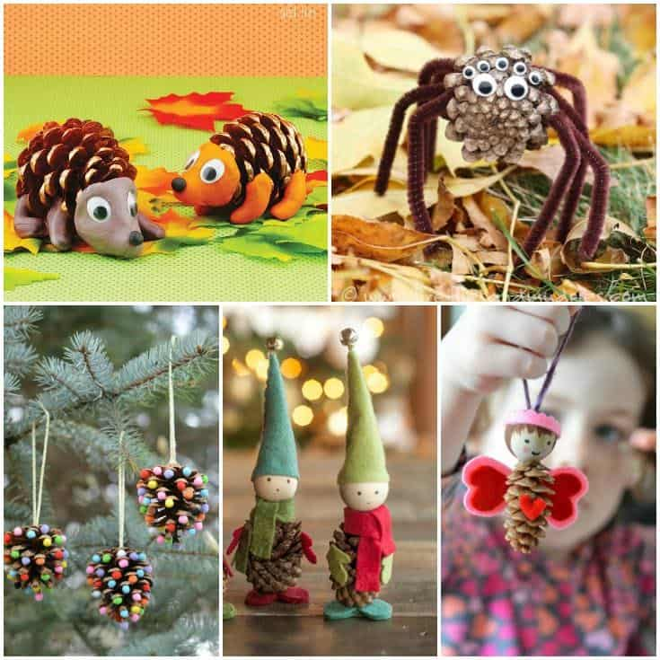 Cute Pine Cone Crafts For Kids You Ll Love
