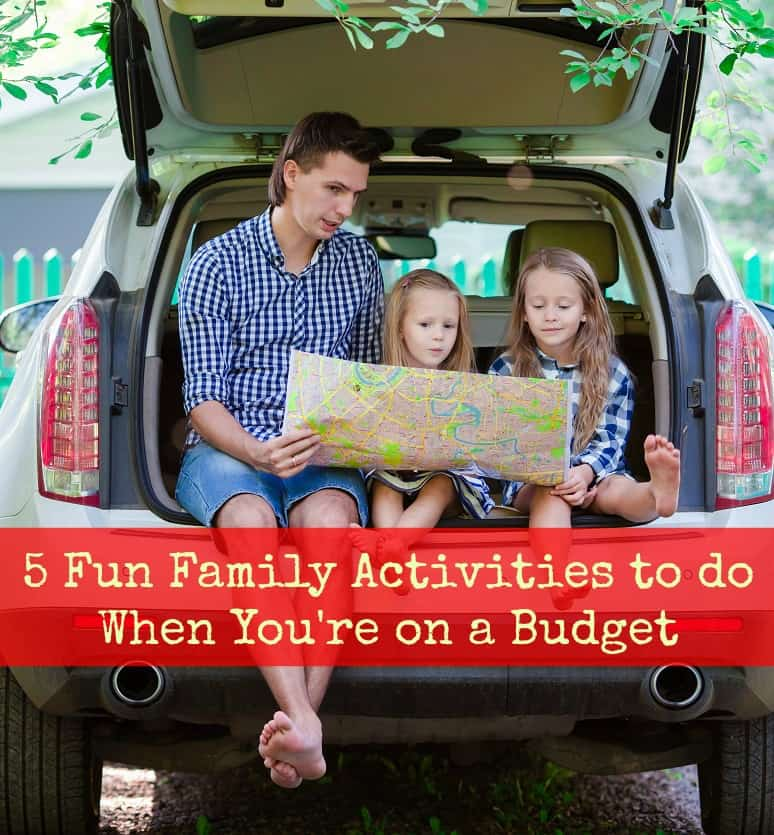 Things to do with kids on a budget
