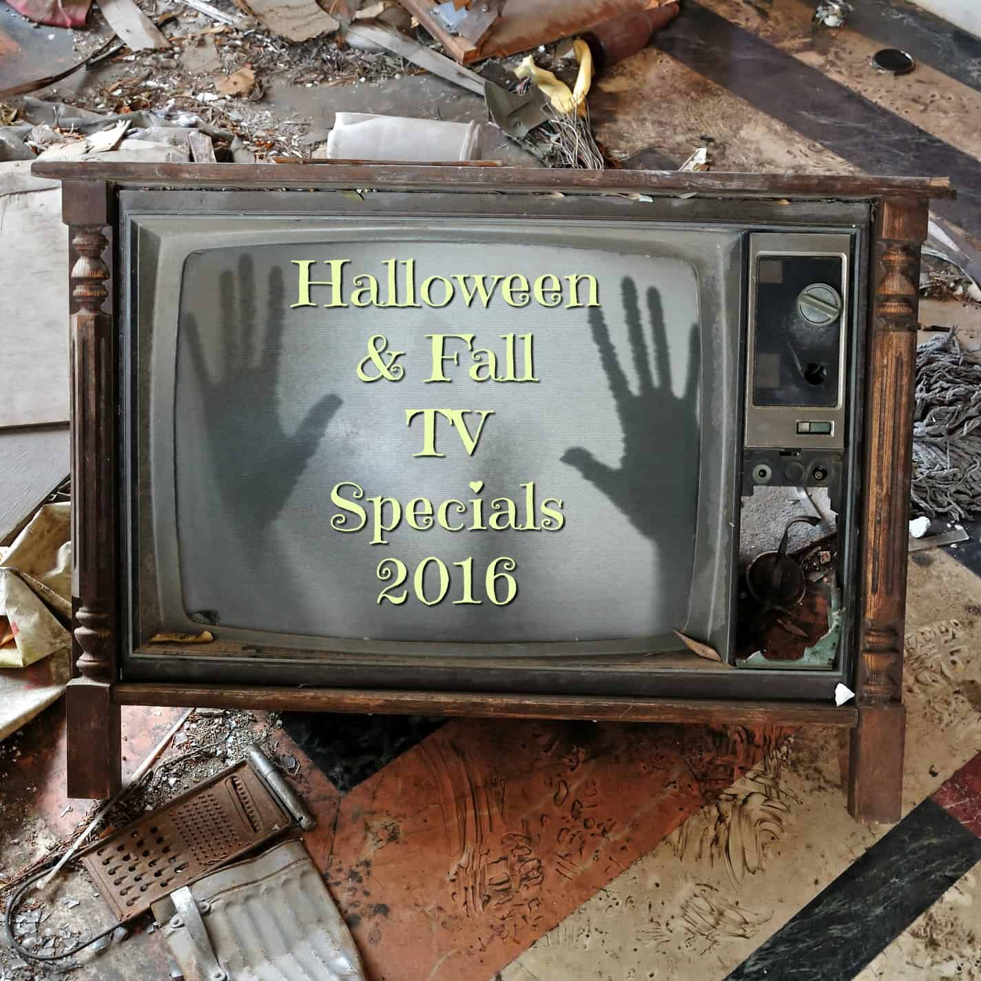 Looking for the latest Halloween specials for 2016? We have all the fall and Halloween TV movies and special TV episodes you won't want to miss!