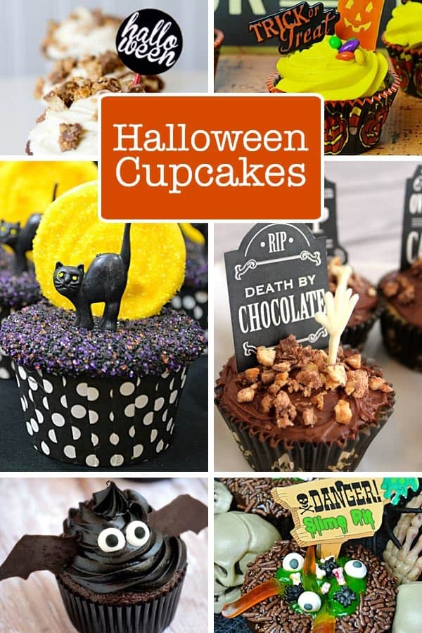 Halloween is approaching fast and whether you're planning a party, or just a little fun at home, we have some spooktacular Halloween cupcakes that you won't want to miss.