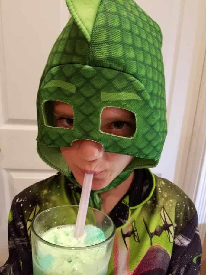 Gekko Halloween Costume