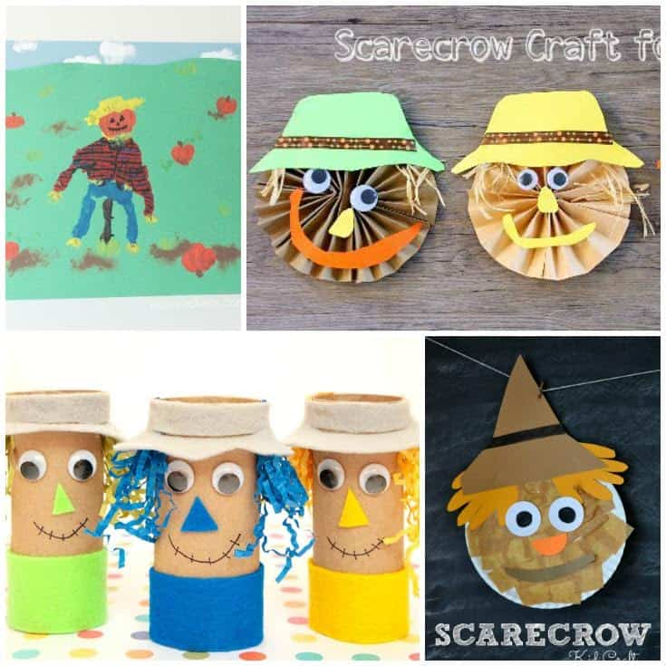 Looking to celebrate fall with some fun scarecrow craft ideas? These fun scarecrow crafts for kids are sure to keep your family busy for hours.