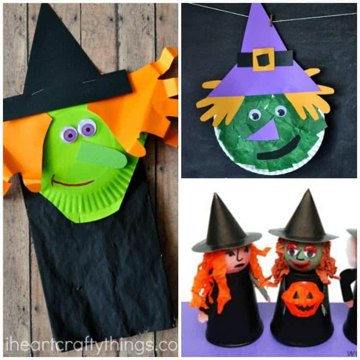 Looking for some scary good witch crafts to make with your kids? Here are some of our favorites!