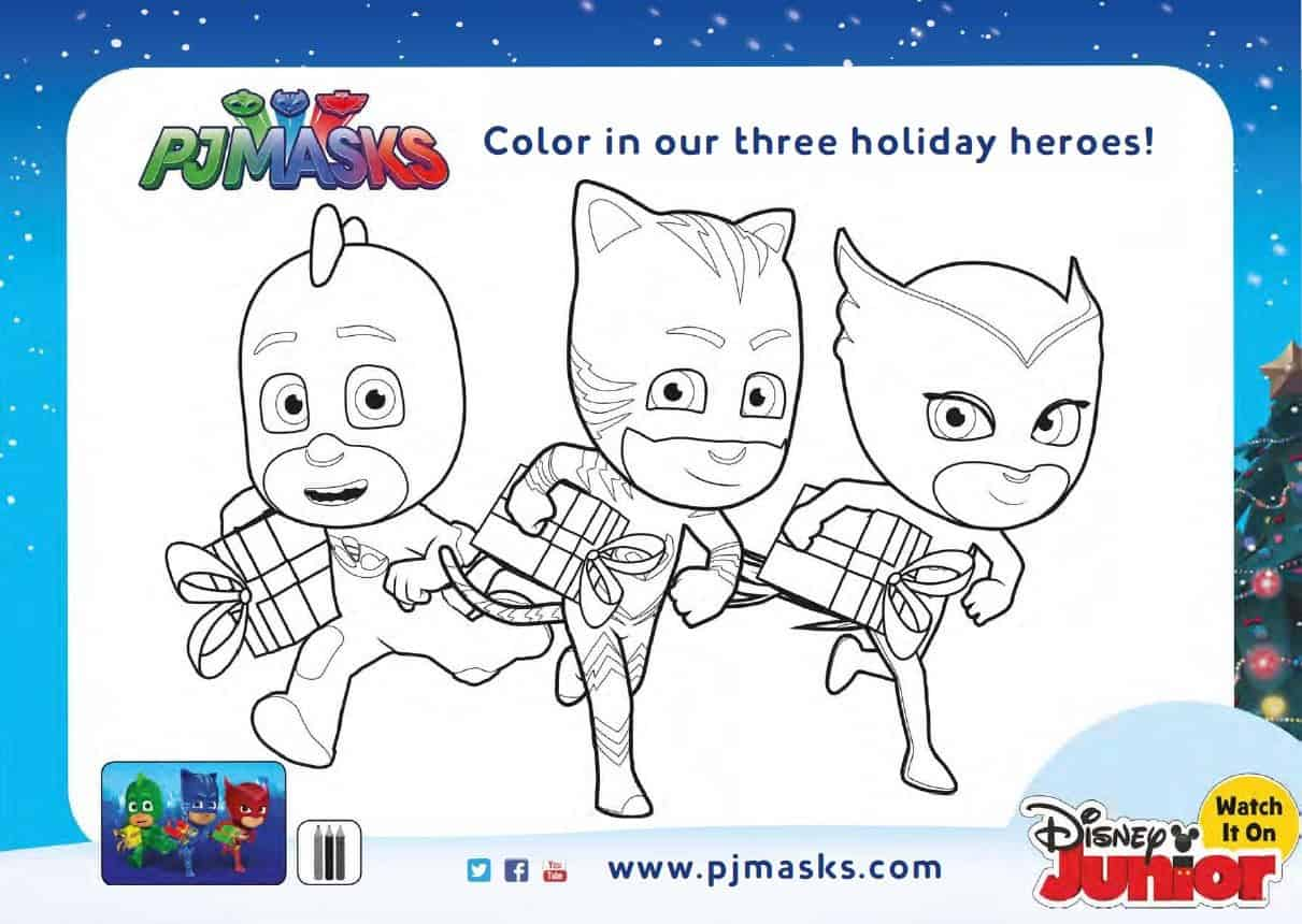 photograph relating to Pj Mask Printable named Free of charge Getaway PJ Masks Coloring Internet pages and Game Sheets